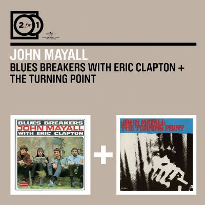 2 for 1: Bluesbreakers With Eric Cl./Turning Point