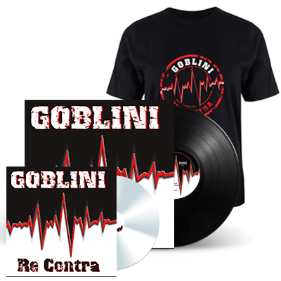 Re Contra LP+CD+MAJICA - GOBLINI Limited Edition