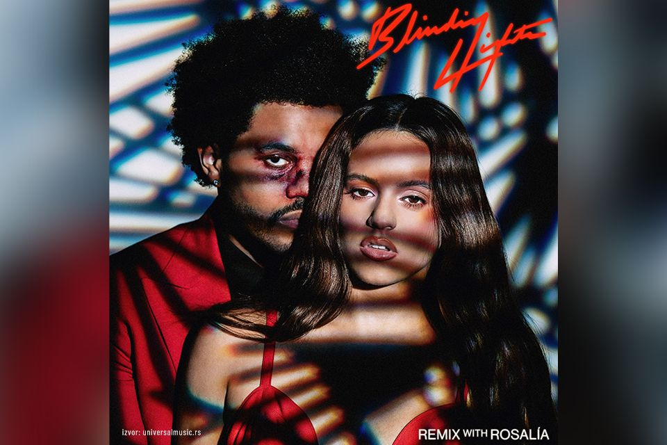 "The Weeknd, Rosalía - ""Blinding Lights"" [Remix]"